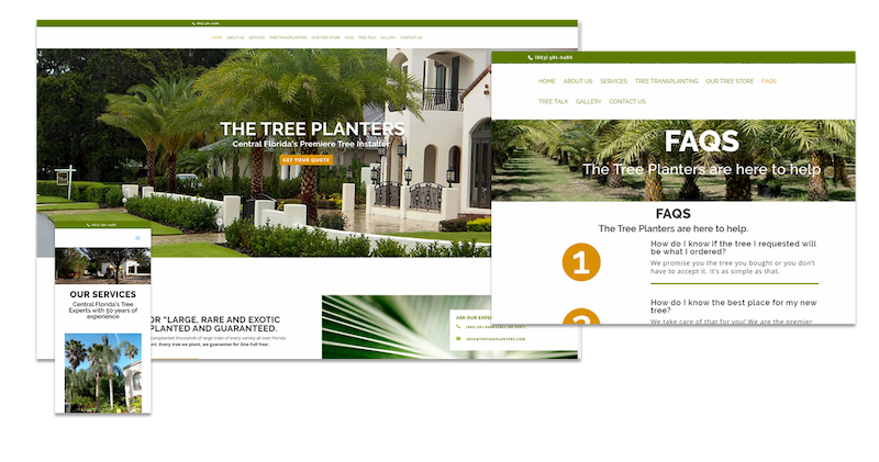 The Tree Planters website