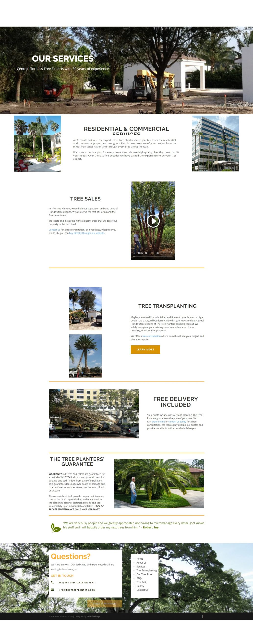 Goodinklings Web Design